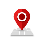 —Pngtree—red map location location icon_5494315